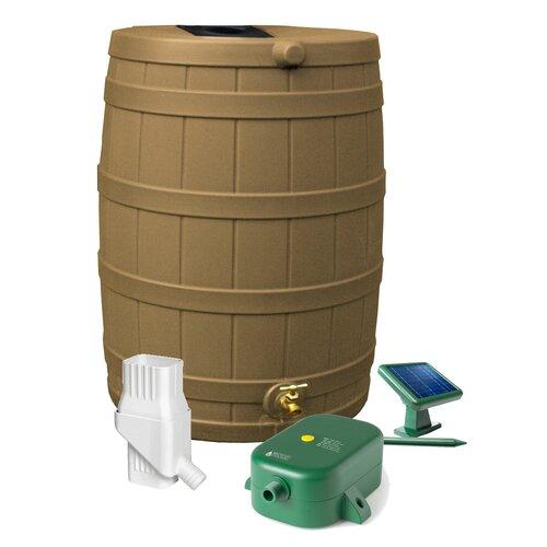 Good Ideas Rain Wizard 50 Gallon Rain Barrel Set