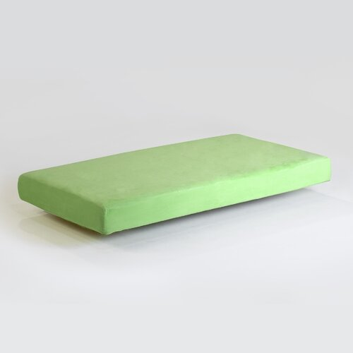 Memory Foam Kidz Kids Memory Foam Mattress with Water Proof Cover in Green