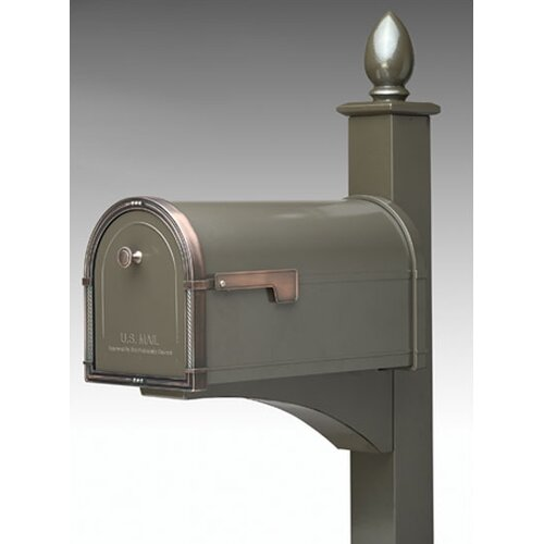 Decorative Mailbox Post