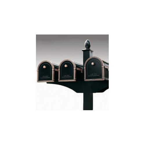 Architectural Mailboxes Decorative Side Bracket for 2 Mailboxes