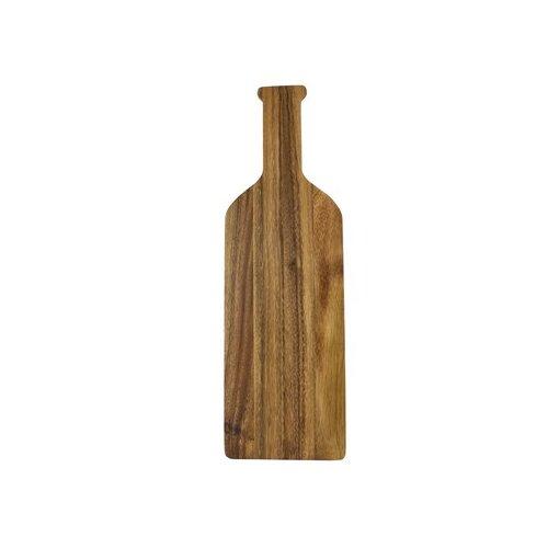 Wine Bottle Shaped Cutting Board