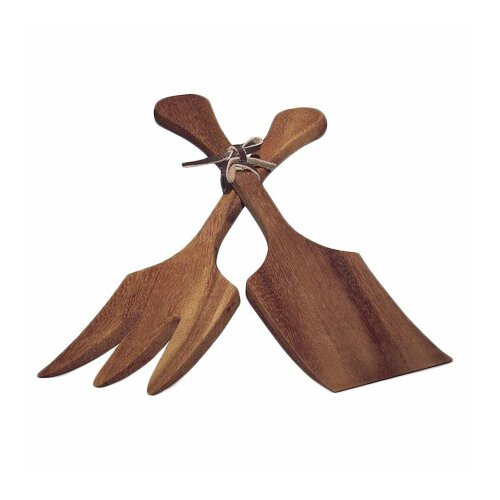 Ironwood Gourmet Two Piece Extra Large Salad Utensil Set