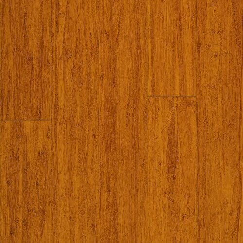 "Engineered Strand Woven Bamboo Flooring: Strand Woven 5"" Solid Bamboo Flooring In Cobra Brown"