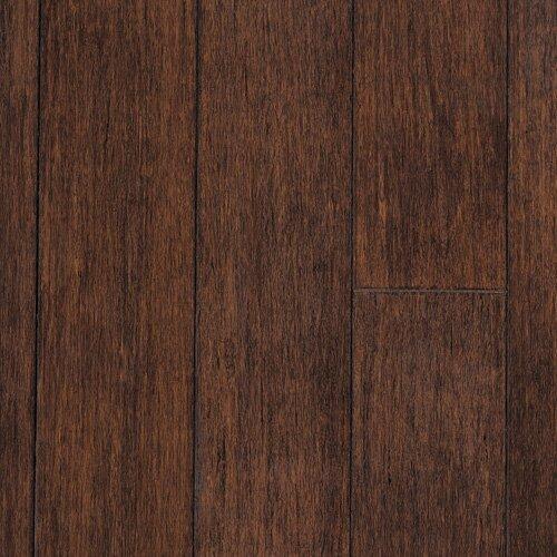 "CFS Flooring Strand Woven 0.5"" x 2.75"" Hand Scraped Bamboo Stair Nose in Cobra"