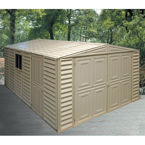 Duramax Building Products Vinyl Garage Shed