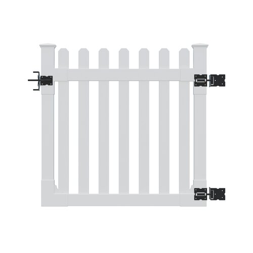 Traditional 4' x 4' Premium Picket Gate