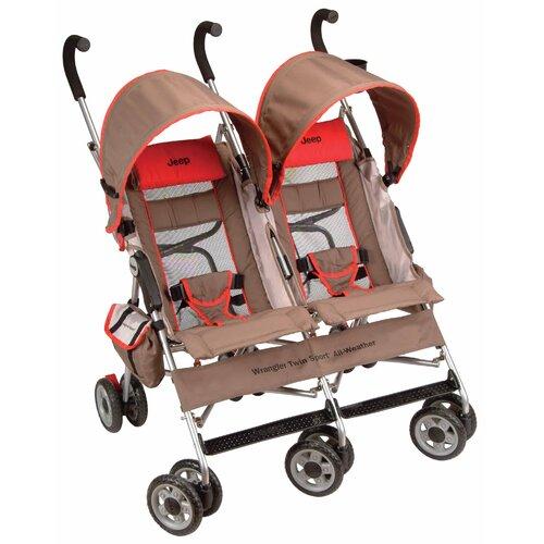 Wrangler Twin Stroller