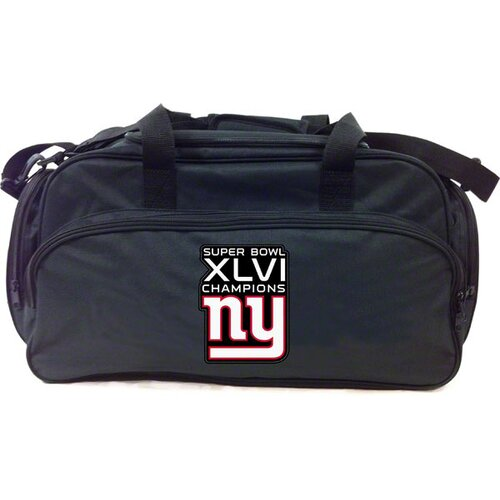 Concept One NFL New York Giants Superbowl XLVI Champs Duffel Bag