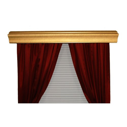 BCL Drapery Hardware Baxter Custom Moulding Double Curtain Cornice