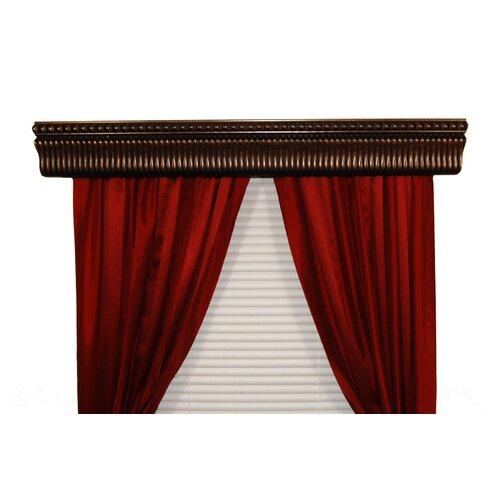 BCL Drapery Hardware Halsted Custom Moulding Curtain Rod Cornice