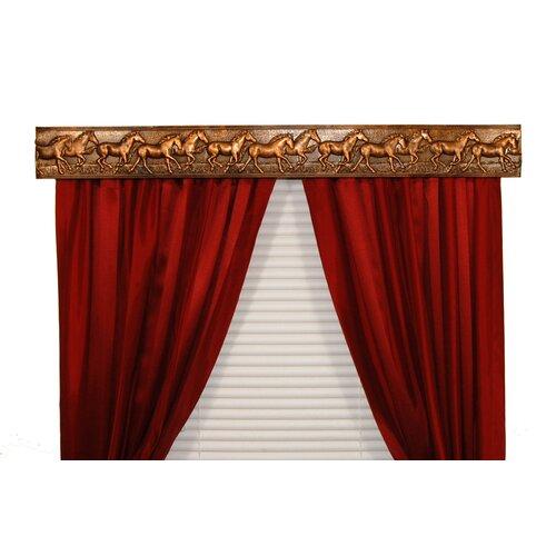 BCL Drapery Hardware Wild Horses Curtain Cornice