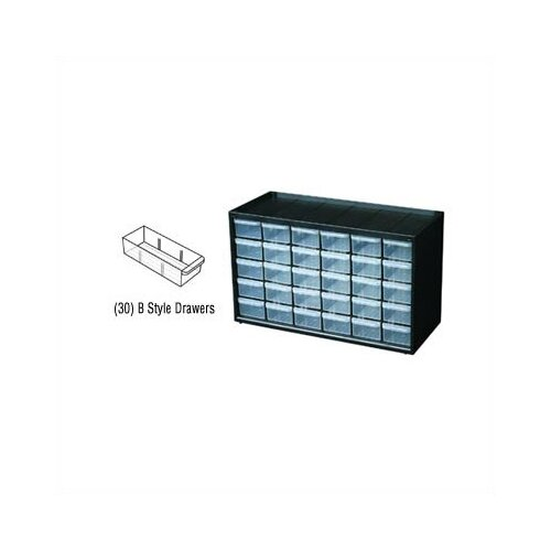 Flambeau Parts-Station 30 Drawer Plastic Parts Cabinet