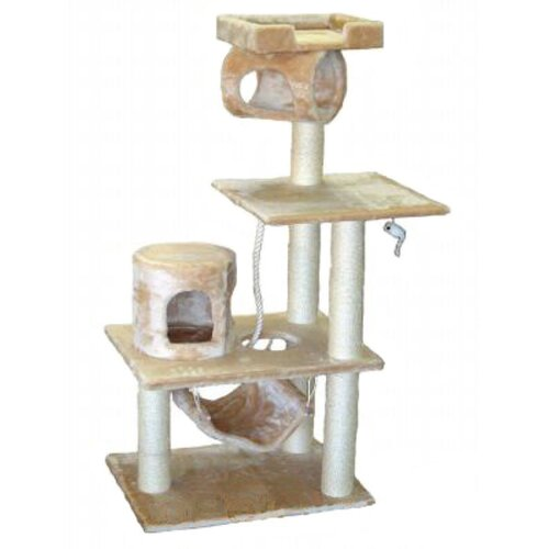 "Go Pet Club 62"" Cat Tree in Beige"