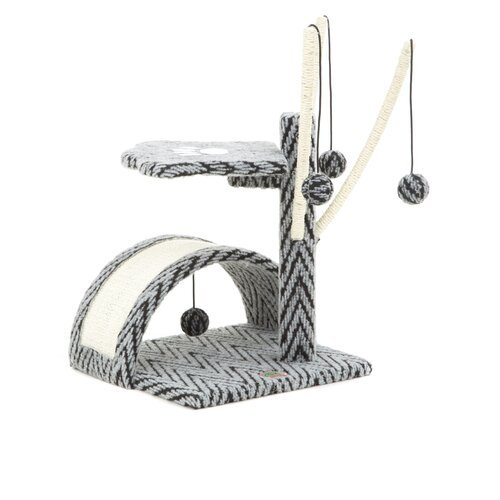 "Go Pet Club 22"" Cat Tree in Grey"