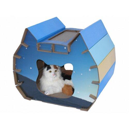 Go Pet Club House Style Cat Scratcher Board
