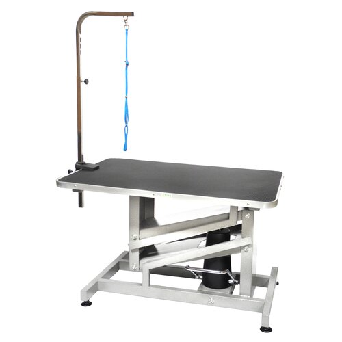 Z-Lift Hydraulic Professional Dog Grooming Table with Arm