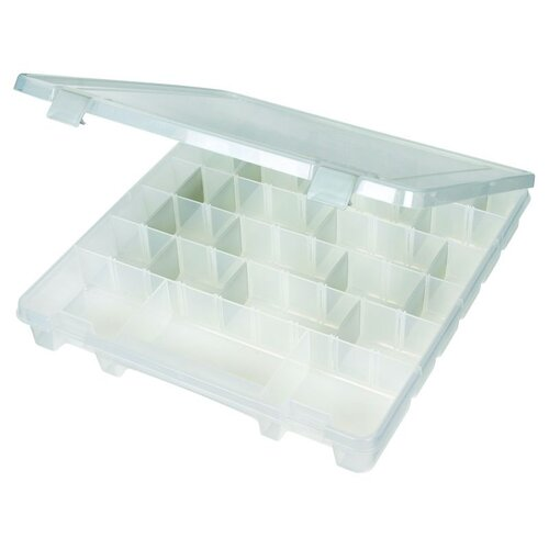 ArtBin Tarnish Inhibitor Super Satchel Slim Box With Eight Compartments in Translucent