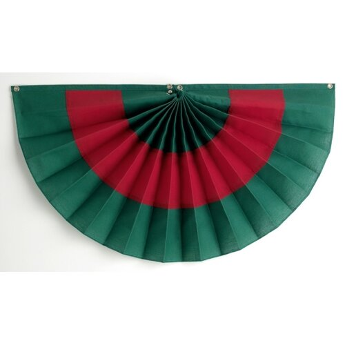 Independence Bunting and Flag Corp Pleated Fan Flag