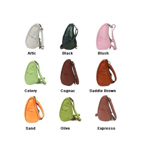 AmeriBag Classic Leather Healthy Back Bag® Small Sling