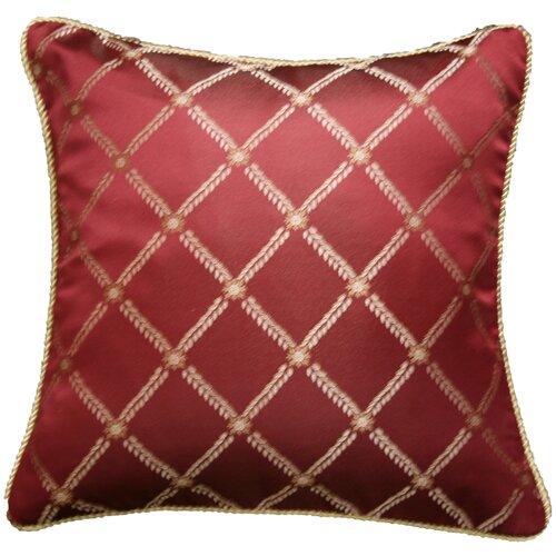 Legacy Damask Design Decorative Throw Pillow