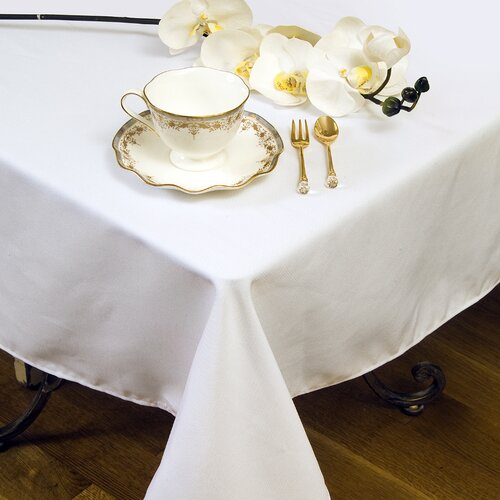 Violet Linen Solid Liner Design Tablecloth