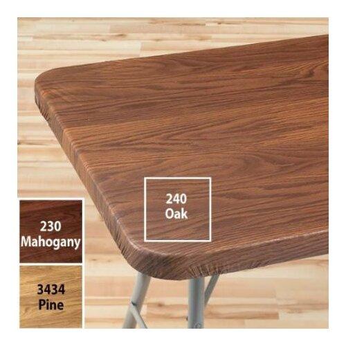 Woodgrain Elastic Table Cover