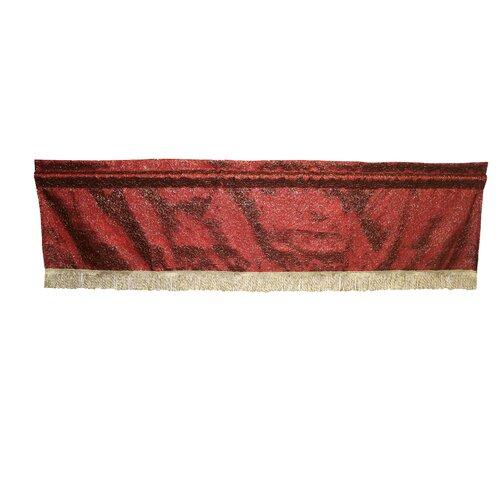 "Violet Linen Monte Carlo Rod Pocket Tailored 60"" Curtain Valance"