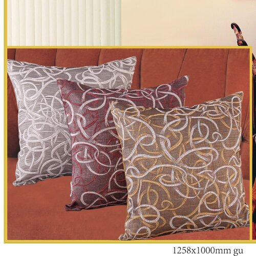 Classic Damask Design Jacquard Decorative Throw Pillow