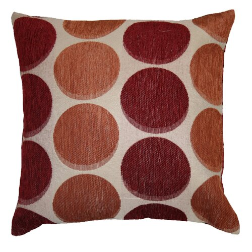 Violet Linen Deluxe Chenille Jacquard Circle's Decorative Cushion Cover