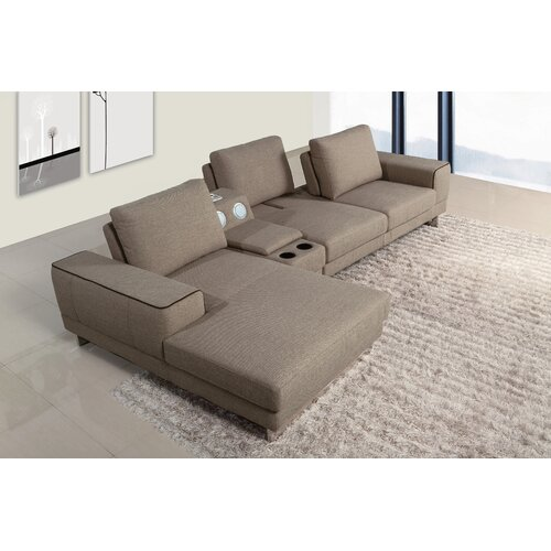 Berkeley Gramercy Left Chaise Sectional