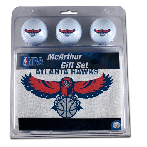 McArthur Towels NBA 3 Ball Golf Gift Set