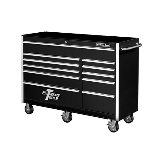"Extreme Tools 56"" Wide 11 Drawer Professional Bottom Cabinet"