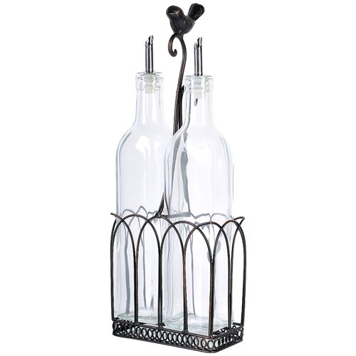 Global Amici Song Bird Oil and Vinegar set