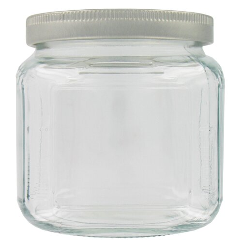Anchor Hocking 16 Oz Cracker Jar