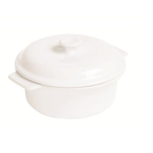 3.5-qt. Ceramic Round Casserole