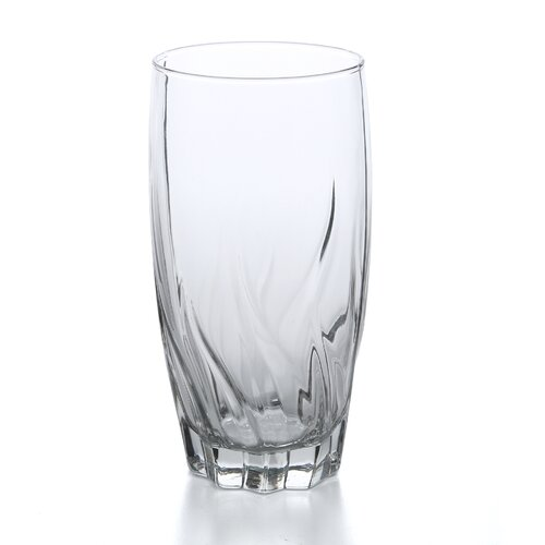 Anchor Hocking 17 oz. Starfire Crystal Iced Tea Glass