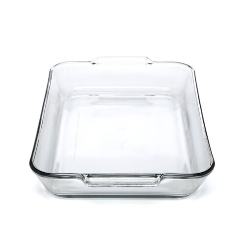 Anchor Hocking 5 Qt. Oven Basics Clear Glass Baking Dish (Set of 3)