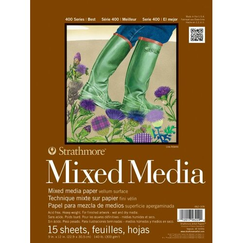 Strathmore 400 Series Mixed Media Pad