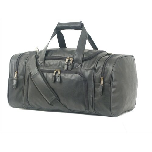 "Mercury Luggage Highland II Series 21"" Leather Carry-On Duffel"