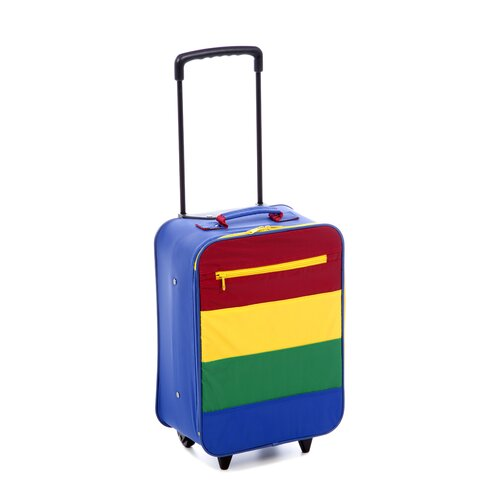 Mercury Luggage Going to Grandma's Kid's Stripe Roller