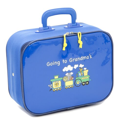 Mercury Luggage Going to Grandma's Children's Suitcase