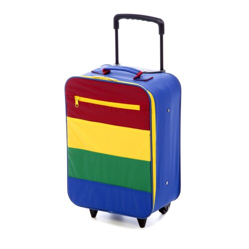 Mercury Luggage Going to Grandma's Kid's Stripe Roller