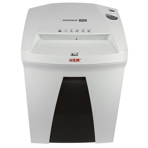HSM of America,LLC Securio B24L6, 7-8 sheets, High Security Level 6, 9 gal. capacity, with Automatic Oiler