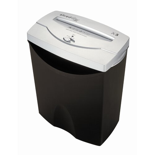 HSM of America,LLC Shredstar X5, 6-7 sheets, cross-cut, 4.2 gal. capacity