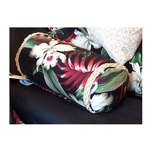 Orchids Cotton Neckroll Pillow