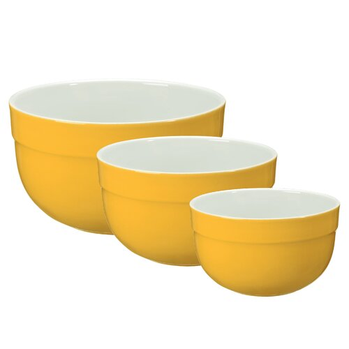 Emile Henry Deep Mixing Bowl Set