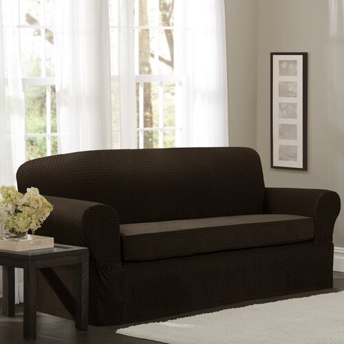 2 Piece Mitchell Loveseat Slipcover