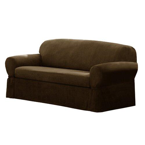 maytex t cushion loveseat sofa slipcover reviews wayfair