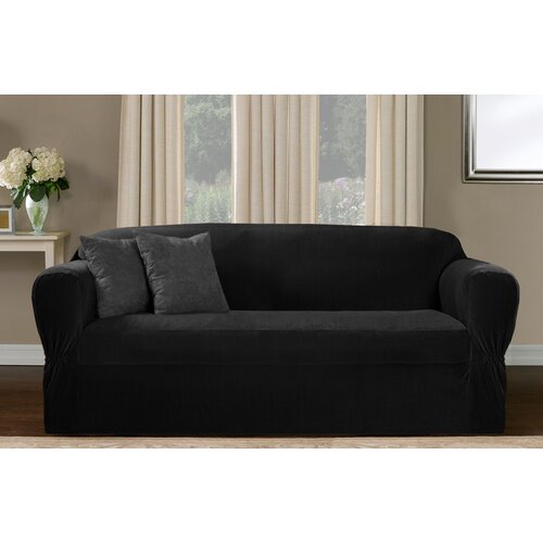 Maytex Collin Stretch One Piece Loveseat Slipcover