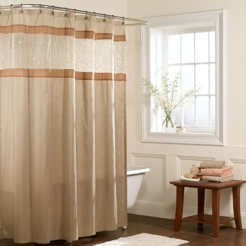Buena Vista Polyester Fabric Shower Curtain